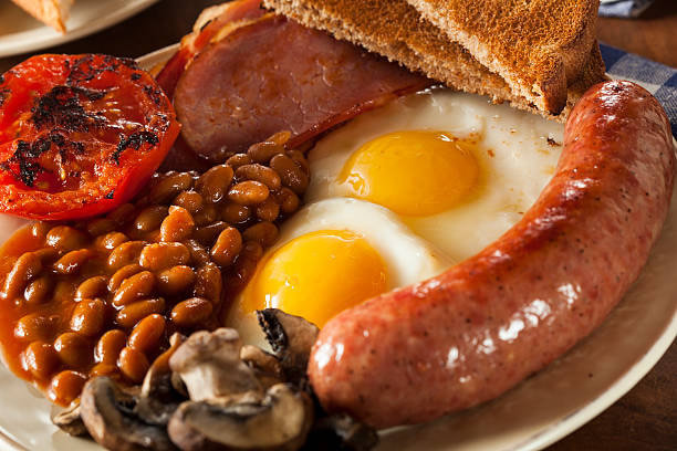 Start your day with a cooked breakfast
